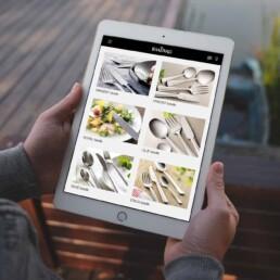 Raadvad responsive design on tablet